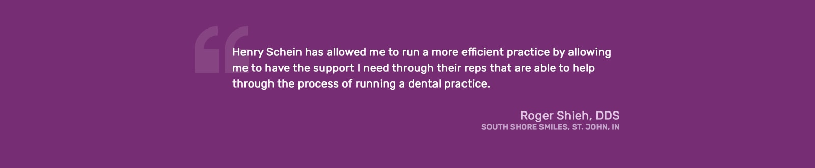Roger Shieh, DDS - Quote